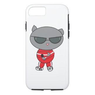 Rapper Cat in Track Suit iPhone 7 Case