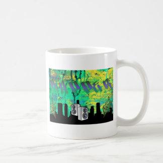 Rapper Graffiti Design Coffee Mugs