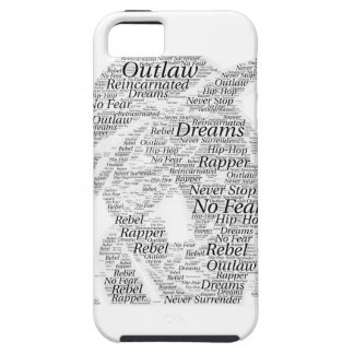 Rapper hip-hop word graffiti sketch Products iPhone 5 Cases