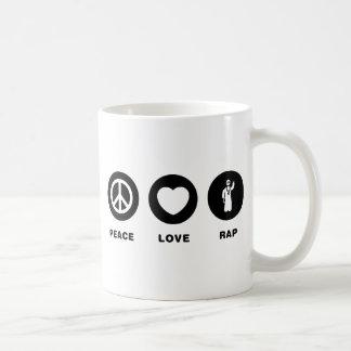 Rapper Basic White Mug
