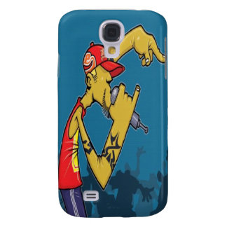 Rapper on Stage - Samsung Galaxy S4 Case