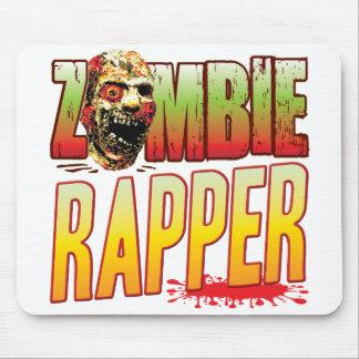 Rapper Zombie Head Mouse Pads