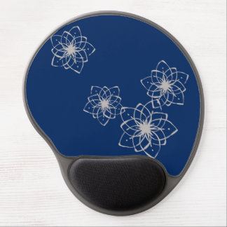 < Rapping it comes and dyes the snowflakes >Flower Gel Mouse Pad