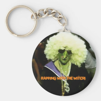 Rapping with the Witch Key Ring