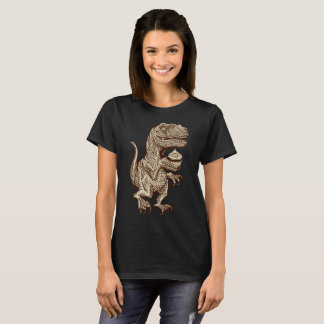 Raptor Eating Fairy Cake T-Shirt