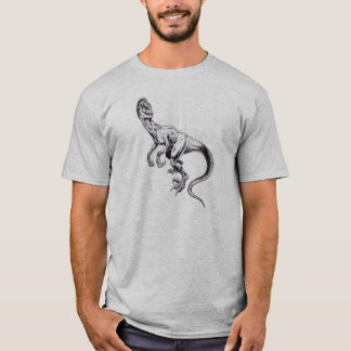 Raptor from The Quest for Truth T-Shirt