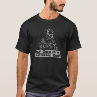 Raptor Jesus Dark T-Shirt
