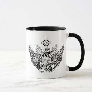 Raptor Jesus Loves You Mug