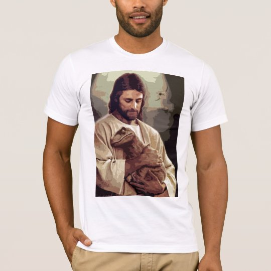 0ef681fecf7 Raptor Jesus T-Shirt | Zazzle.com.au