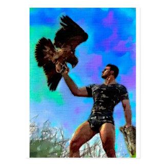 Raptor Master Postcard