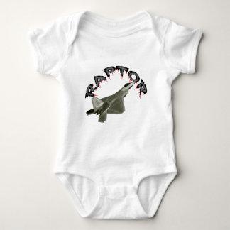 Raptor Over California Baby Bodysuit