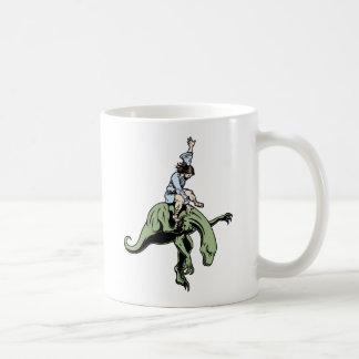 Raptor Rodeo Jesus Basic White Mug