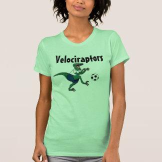 Raptor, soccer_ball, Velociraptors Tees