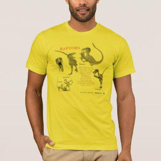 Raptors Your Inner Dinosaur Shirt Greg Paul light