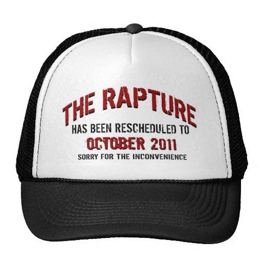 RAPTURE RESCHEDULED TRUCKER HATS