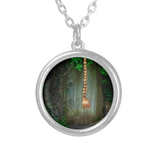 RAPUNZEL 2 SILVER PLATED NECKLACE