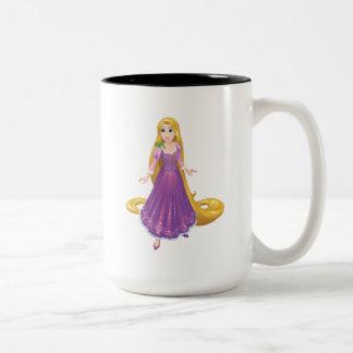 Rapunzel And Pascal Two-Tone Coffee Mug