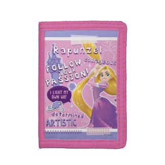 Rapunzel - Follow Your Passion Tri-fold Wallets