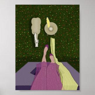 Rapunzel Instagram Poster