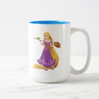 Rapunzel | Painting With Pascal Two-Tone Coffee Mug
