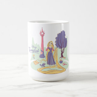 Rapunzel & Pascal in Pretty Pastels Coffee Mug