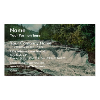 Raquette Falls, Adirondack Mountains rare Photochr Pack Of Standard Business Cards
