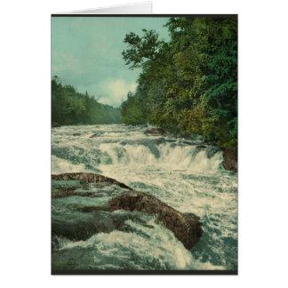 Raquette Falls on the Raquette River Greeting Card