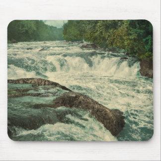 Raquette Falls on the Raquette River Mouse Pad