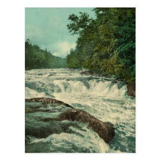 Raquette Falls on the Raquette River Postcard