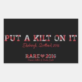 RARE16 Kilt Sticker