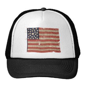 Rare 1850-1865 Period 25 Star U.S. Flag. Trucker Hat