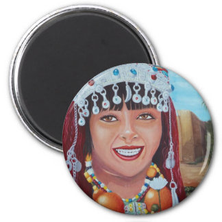 Rare and exclusive design you like downright 6 cm round magnet