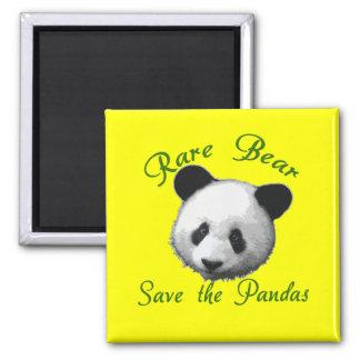 Rare Bear Save the Pandas Magnets