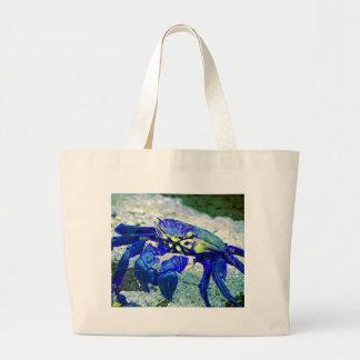 Rare Blue Crab Large Tote Bag