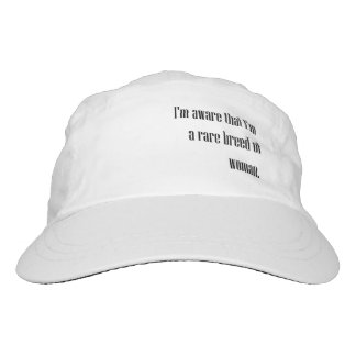 Rare Breed of Woman Hat