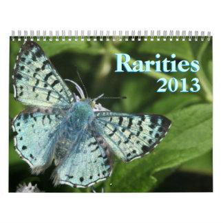Rare Butterflies 2013 Calendar