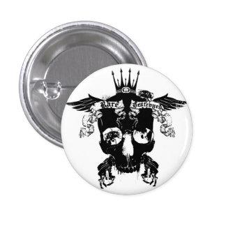 RARE_Destroyed 1'button 3 Cm Round Badge