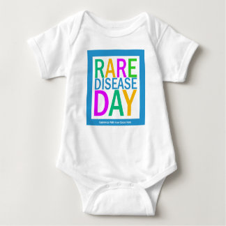 Rare Disease Day (customization available) Baby Bodysuit