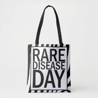 Rare Disease Day tote bag (zebra print)
