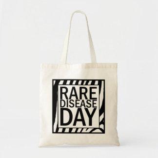 Rare Disease Day tote (zebra print)