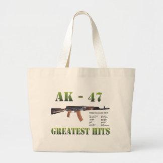 RARE NEW AK-47 KALASHNIKOV GUN LARGE TOTE BAG