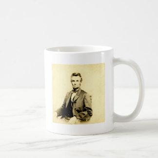 RARE President Abraham Lincoln STEREOVIEW VINTAGE Basic White Mug