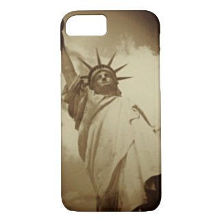 Rare Vintage Statue of Liberty Picture iPhone 7 Case