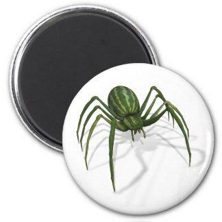 Rare Watermelon Spider 6 Cm Round Magnet