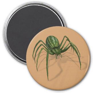 Rare Watermelon Spider 7.5 Cm Round Magnet