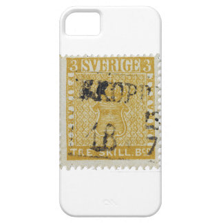 Rare Yellow 3 Skilling Stamp of Sweden 1855 Case For The iPhone 5