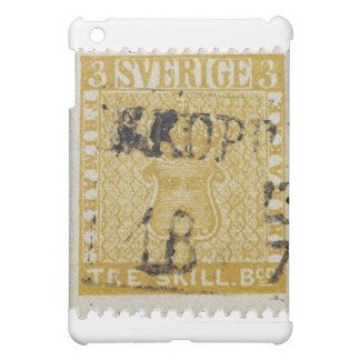 Rare Yellow 3 Skilling Stamp of Sweden 1855 Cover For The iPad Mini