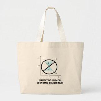 Rarely Do I Reach Economic Equilibrium (Economics) Bag
