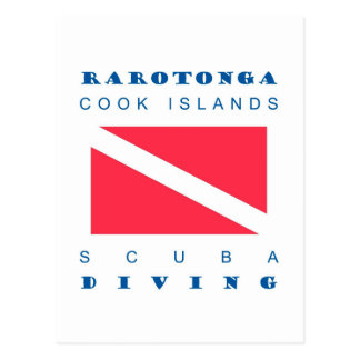 Rarotonga Cook Islands Postcard