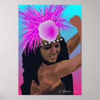 Rarotonga Tamure Poster